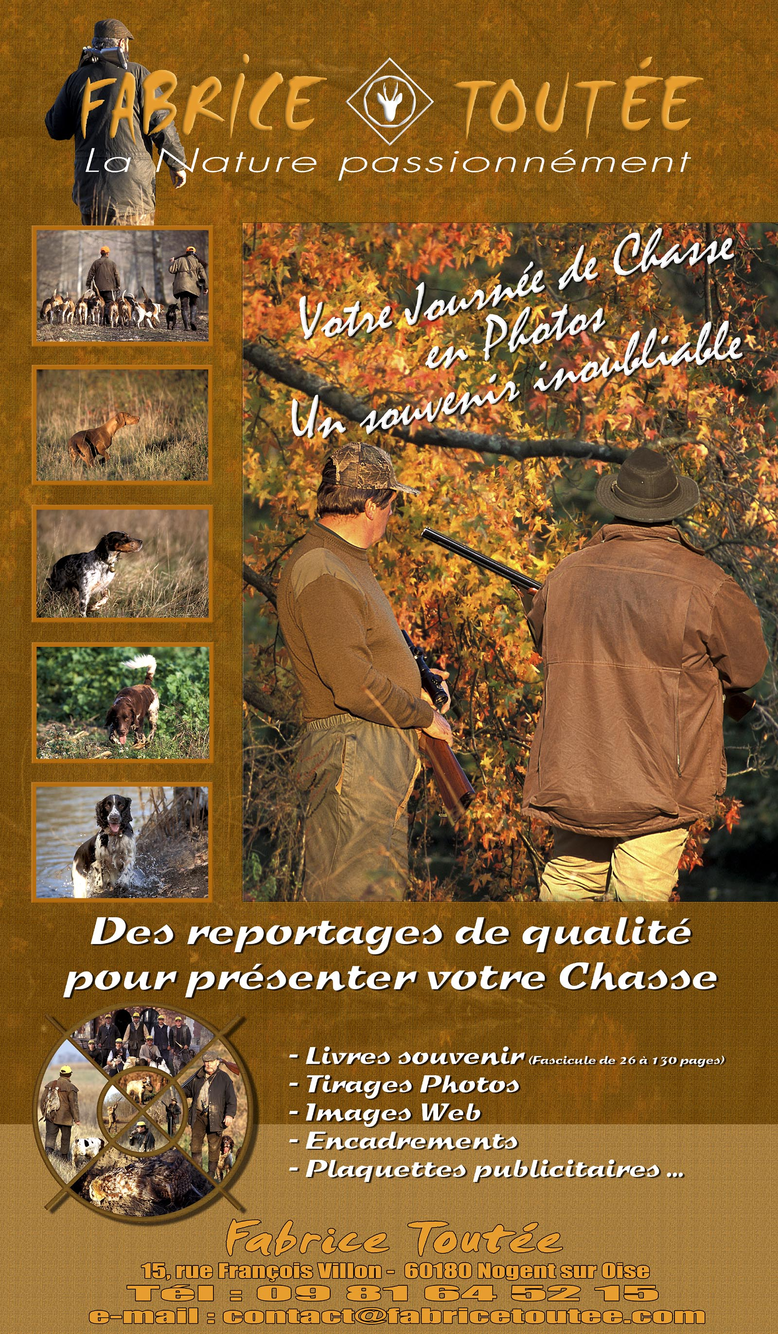 affiche chasse new